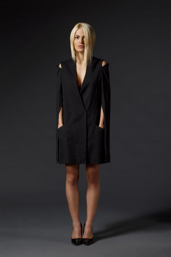 Black_Blazer_Dress_With_Cut_Out_Shoulders_01