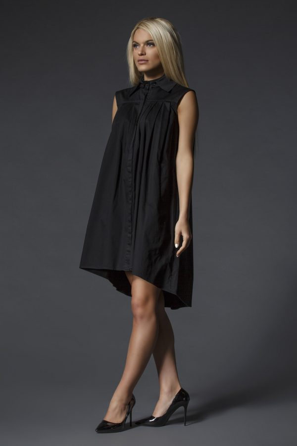 Black_Shirt_Dress_With_Removable_Collar_02