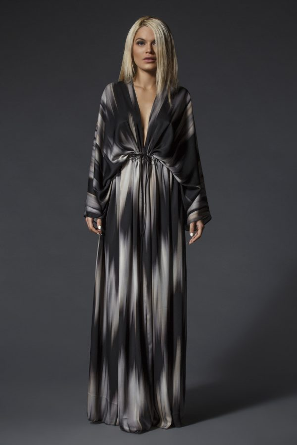 Long_Patterned_Oversize_Satin_Dress_01