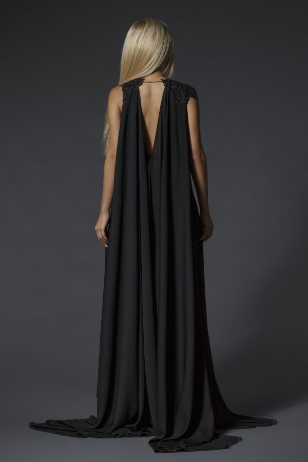 Black evening dress (3)