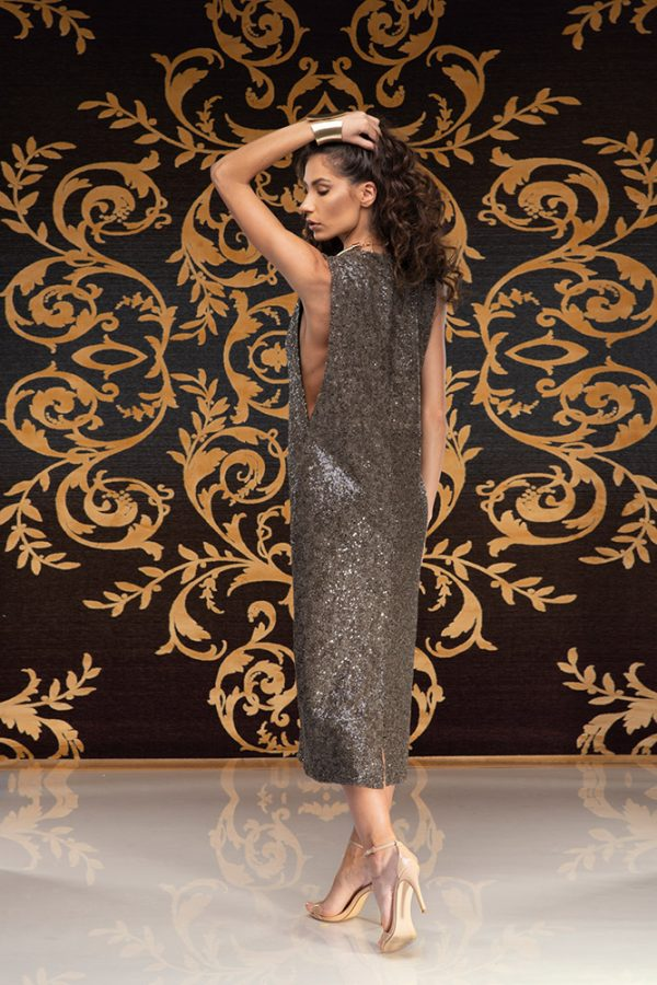 Latifa-dress-sequins-dress-elegant-dress-party-dress-evening-dress-cocktail-dress-must-have-trend-gold-dress-black-dress-stylish-clothing-women's-wear–(1)