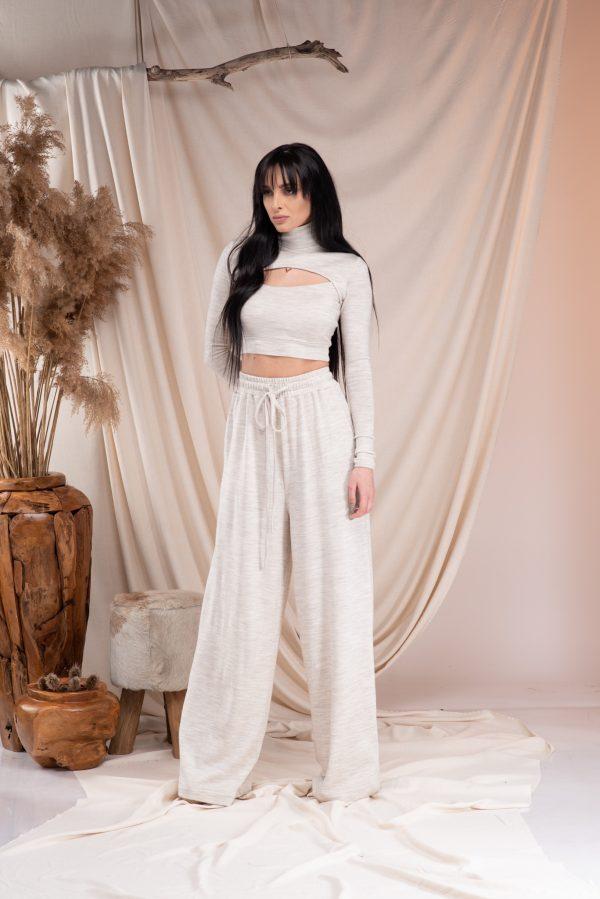 Naomi Blouse Iris trousers